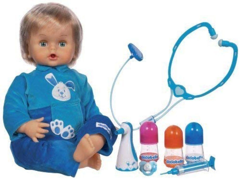 La bambola Cicciobello bua ha varie funzioni.