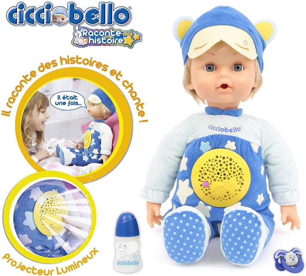 Il bambino Cicciobello Raccontastorie che può cantare e contare storie per il tuo bambino.
