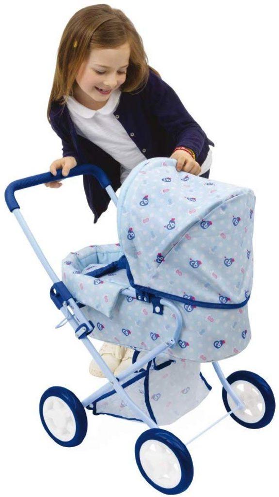 Al carrozzina per bambola è l'ideale per il vostro bambino per fare una passeggiata con il suo nuotatore.