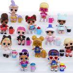 Ci sono un gran numero di bambole LOL Surprise Under Wraps da raccogliere