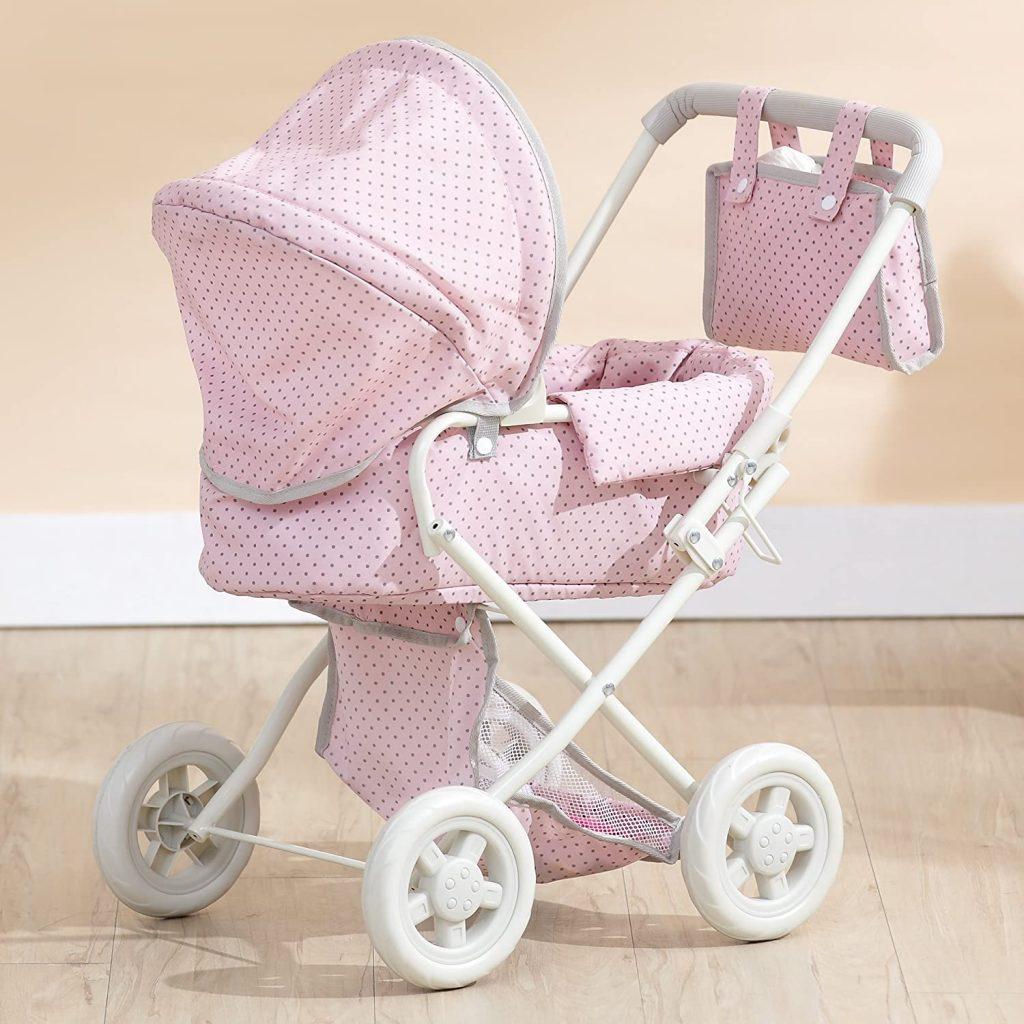 La carrozzina giocattolo Olivia's Little World può essere utilizzata a partire dai 3 anni di età.